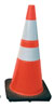 "SAS Safety 28"" Safety Cone with Reflective Bar"