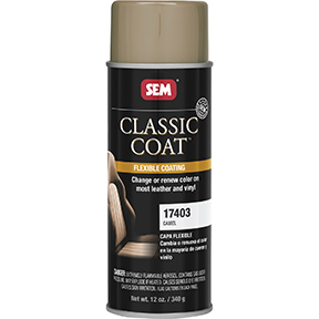 SEM Products CLASSIC COAT - Camel