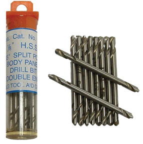 "S & G Tool Aid 1/8"" Stubby Body Panel Drill Bits - Double End"
