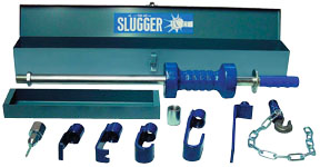 """S & G Tool Aid """"The Slugger"""" Heavy-Duty Slide Hammer with Carrying Case"""