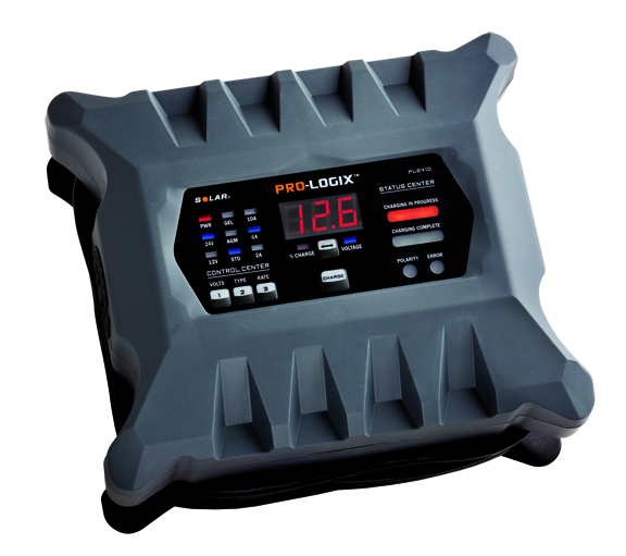 Solar 12/24 Volt 10/6/2A Intelligent Battery Charger/Maintainer