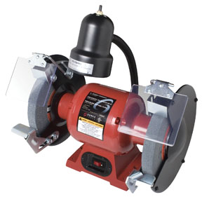 "Sunex Tools 8"" Bench Grinder with Light"