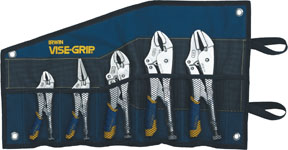 IRWIN VISE-GRIP 5 Pc. Fast Release™ Locking Pliers Set