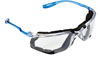 3M Company Virtua™ Clear CCS Protective Eyewear in with Foam Gasket & Anti-Fog Lens