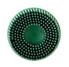 "3M Company Scotch-Brite™ Roloc™ Bristle Disc 07524 Green, 2"", Coarse, 10 discs/bx"