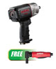 "AIRCAT 1/2"" Impact Wrench w/FREE Composite Angle Die Grinder"