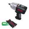 "AIRCAT 1/2"" Limited Edition Impact Wrench W/ FREE 40"" Low Profile Creeper"