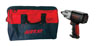 "AIRCAT 1/2"" Drive Twin Clutch Impact Wrench W/ Tool Bag"