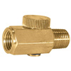 "AES Industries 1/4""Brass Regulator"