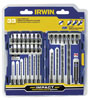 Irwin Hanson 33 Pc. Impact Drill/Drive Set