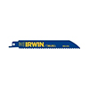 "Irwin Hanson 6"" 10 TPI Metal & Wood Cutting Reciprocating WeldTec Bi-Metal Blade"