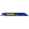 "Irwin Hanson 6"" 24 TPI Metal Cutting Reciprocating Bi-Metal Blade, 5 Pack"