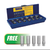 Irwin 13Pc Bolt  Extractor Set  w/FREE 5Pc  BOLT-GRIP™  Deep Well Bolt Extractor Set