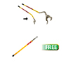 AME International Golden Buddy  Tire Changing  System w/FREE  Bead Breaker Slide Hammer