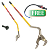 AME International Golden Buddy Tire Changing System W/PROMO Low Speed Tire Buffer