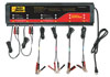 Auto Meter Products 120V 5 Amp 6-Channel Smart Battery Charger