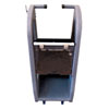 Auto Meter Products Deluxe Equipment Stand with Front Casters and Bottom Compartment