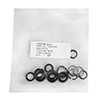 Astro Pneumatic 10pc Retaining Ring & 10pc O-Ring Set