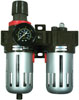 Astro Pneumatic Filter, Regulator  & Lubricator  with Gauge  for Compressed  Air System