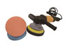 "Astro Pneumatic 6"" Electric Dual Action Random Orbital Polisher with 3 Pc. Pad Kit"