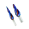 Astro Pneumatic Blue Steel 2pc Max-Duty Step Drill Set