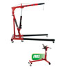 ATD Tools 2-Ton Engine Crane with FREE 750lbs Deluxe I-Engine Stand