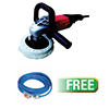 ATD Tools 7IN Shop Polisher with Soft Start W/free promo 25 ft. Indoor/Outdoor Locking Extension Cord