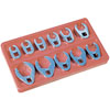 ATD Tools 11 Pc. SAE Crowfoot Wrench Set