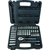 "ATD Tools 44 Pc. 1/4"" Drive 6 Point SAE and Metric Pro Socket Set"