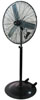 "ATD Tools 30"" Oscillating Pedestal Fan"