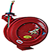 ATD Tools Heavy Duty Retractable  Oxy-Acetylene Welding Hose Reel