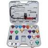 ATD Tools 25 Pc. Master Cooling System Pressure Test Kit