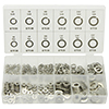 ATD Tools 350 Pc. Stainless Lock and Flat Washer Assortment