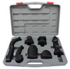 ATD Tools 7 Pc Rubber Coated Dolly Set