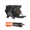 ATD Tools COMBO: 300 CFM Pro Air Blower and  Heater Attachment for 300 CFM Blower