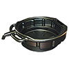 ATD Tools 4.5 Gallon Drain Pan, Black