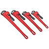 ATD Tools 4 Pc. Cast Iron Pipe Wrench Set