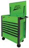 ATD Tools 7-Drawer Flip-Top Tool Cart, Green