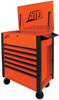 ATD Tools 7-Drawer Flip-Top Tool Cart, Orange