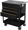 ATD Tools Professional 4-Drawer Service Cart, Black