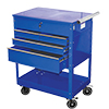 ATD Tools Professional 4-Drawer Service Cart, Blue