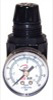 "ATD Tools Mini 1/4"" NPT Air Regulator with Gauge, 25 SCFM"