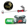 ATD Tools SABER® 2000 Lumen LED Underhood Lght w/ Rechargeable Cordless/25' Removable Cord w/FREE Fender Cover