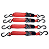 ATD Tools Ratcheting 15 ft. Tie Down Set, 4 pc.