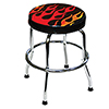 ATD Tools Shop Stool with Flame Design