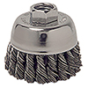 "ATD Tools 2-3/4"" Knot Cup Brush"