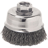 "ATD Tools 4"" Crimped Wire Cup Brush"