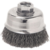 "ATD Tools 6"" Crimped Wire Cup Brush"