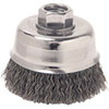 "ATD Tools 3"" Crimped Wire Cup Brush"