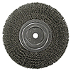 """ATD Tools 8"""" Wire Wheel with Spacer for 5/8"""" Arbor"""